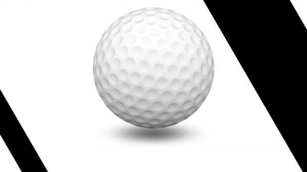 Golfball. Opakování záběru má rozlišení 4 k. ProRes 4444.