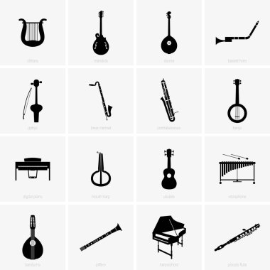 Historical and traditional musical instruments