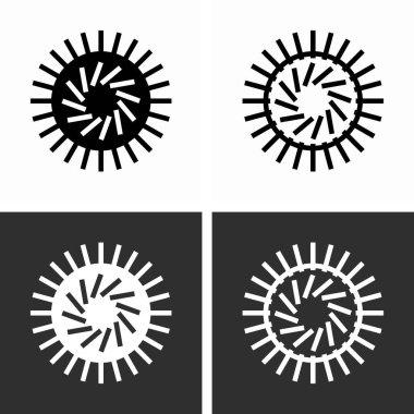 Coronavirus, a family of positive-sense, single-strained 40 viruses icon