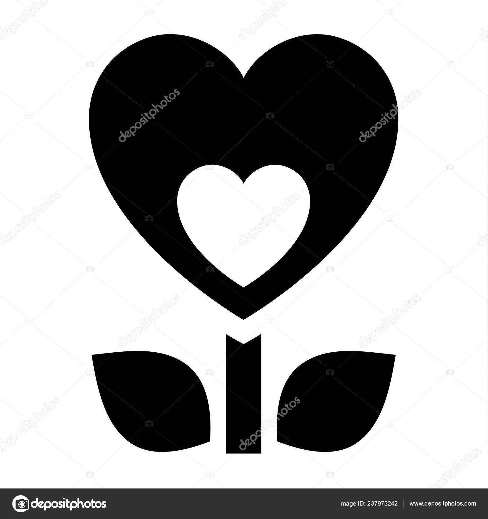 Heart And Rainbow With Clouds Black And White Stock Vector - Illustration  of celebration, creative: 145063506