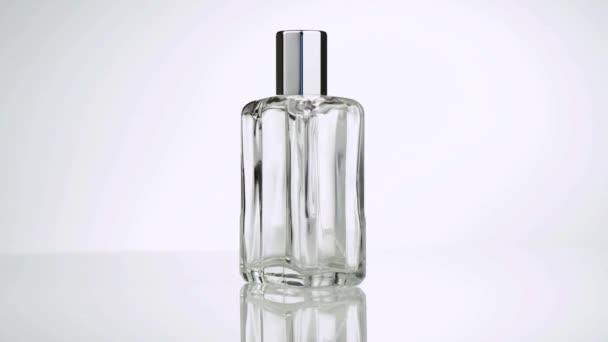 360 degrees in rotation of a Men perfume. Bottle spray