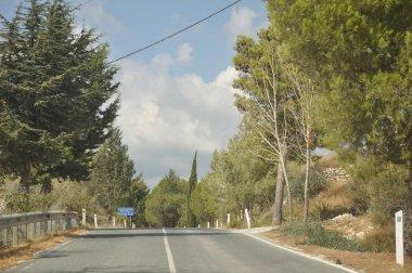 The beautiful landscape road