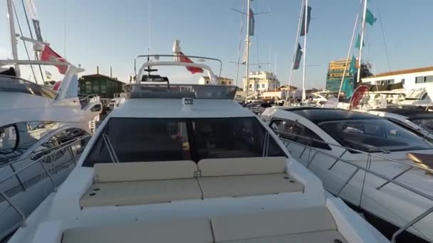 The beautiful Luxury yacht