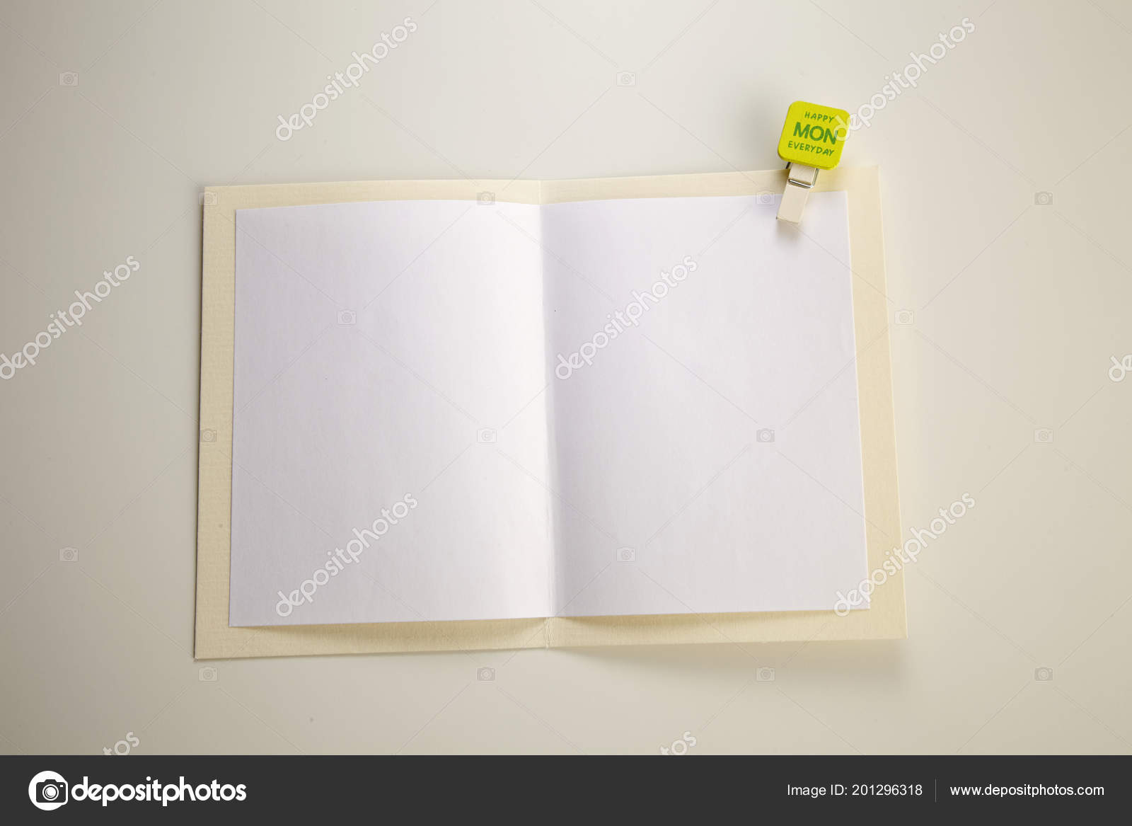 Blank greeting card happy monday stock photo eskaylim 201296318 blank greeting card happy monday stock photo m4hsunfo