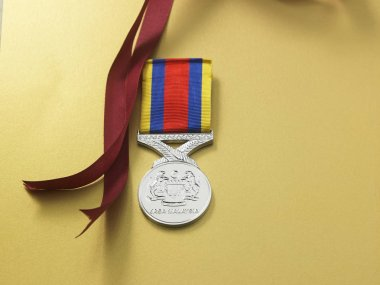 The Pingat Jasa Malaysia (PJM) (English: Malaysian Service Medal), medal given by the King and Government of Malaysia Malaysian Armed Forces also offered for award to members of the Commonwealth forces