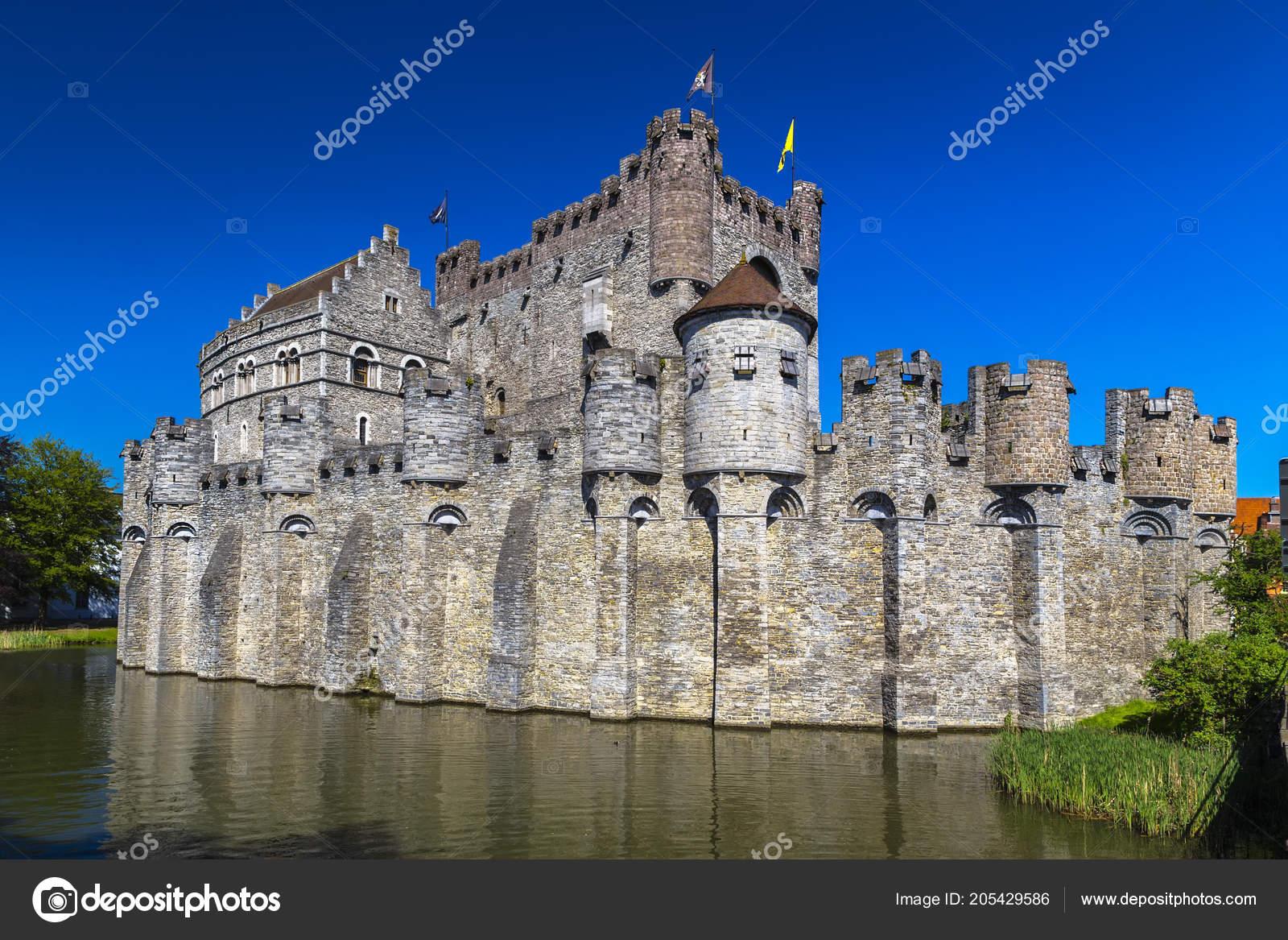 Castillo Los Condes Flandes Castillo Medieval Muy Bien Conservado