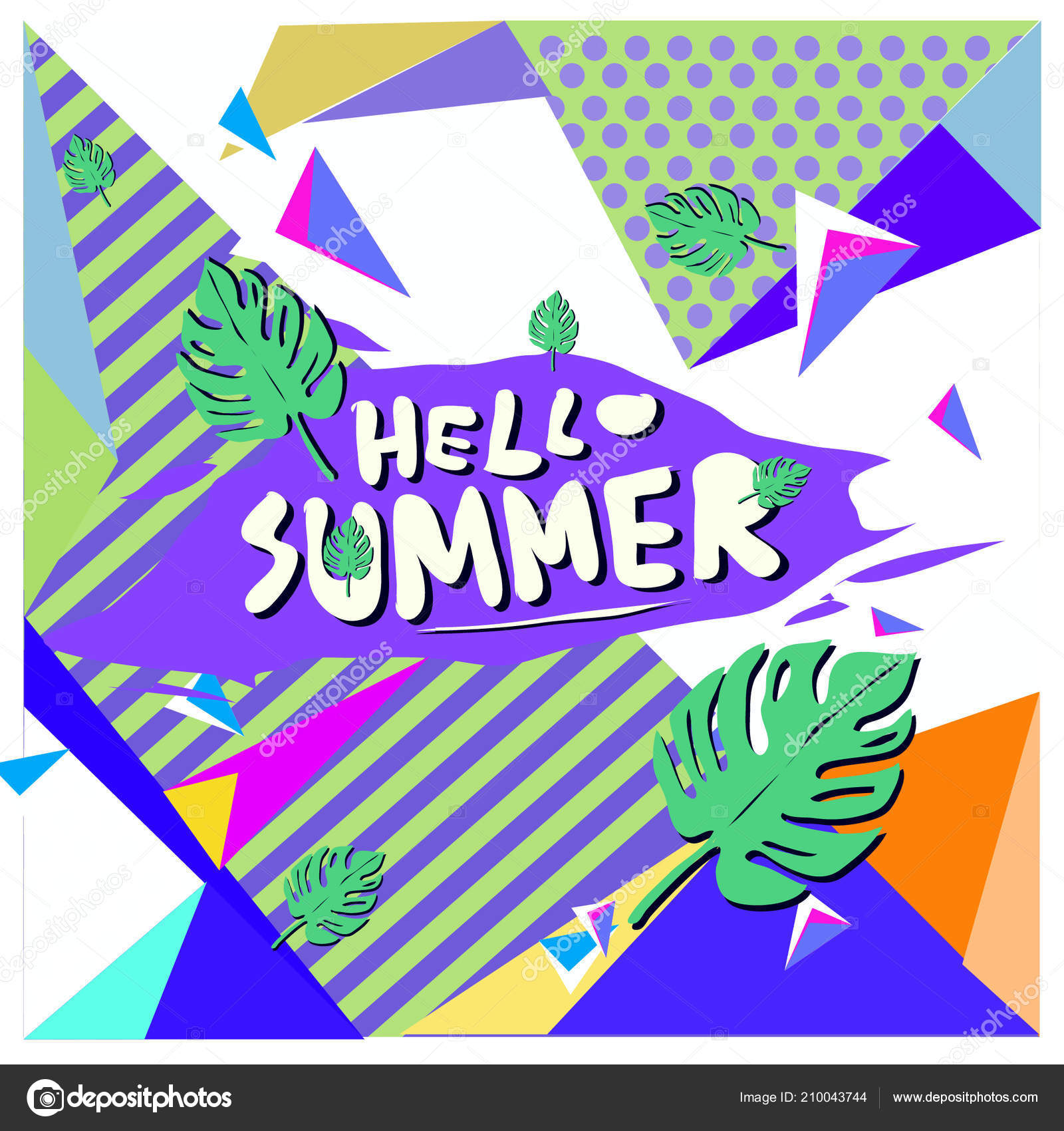 vector summer sale poster background set fashion summer banner