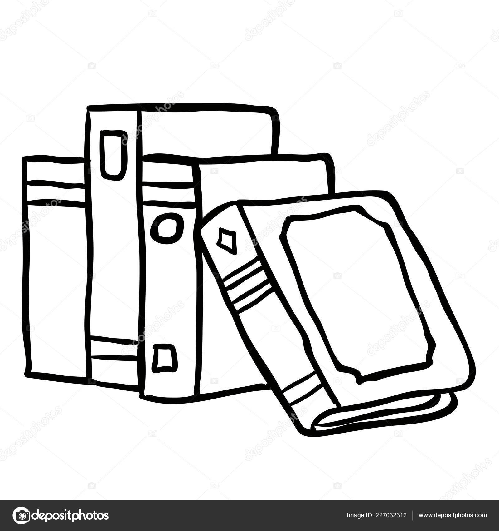 Gráfico Vectorial Encuadernación De Libros Imagen Vectorial Encuadernación De Libros Depositphotos