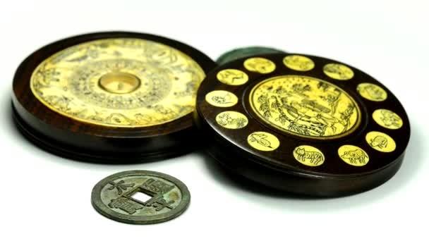 Čínské Feng Shui kompasu na točny