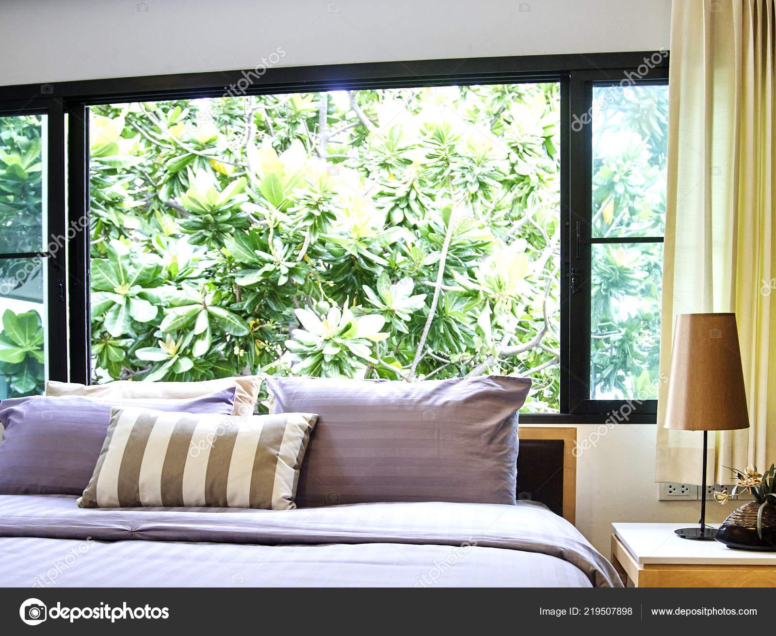 b375715a7 Hlavní Ložnice Interiér Luxusních Domů Vintage Stylu Ranní Světlo– stock  obrázky