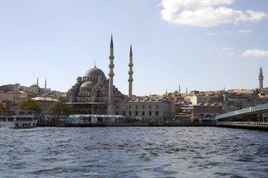 Istanbul, Boğaziçi, Türkiye arka plan üzerinde