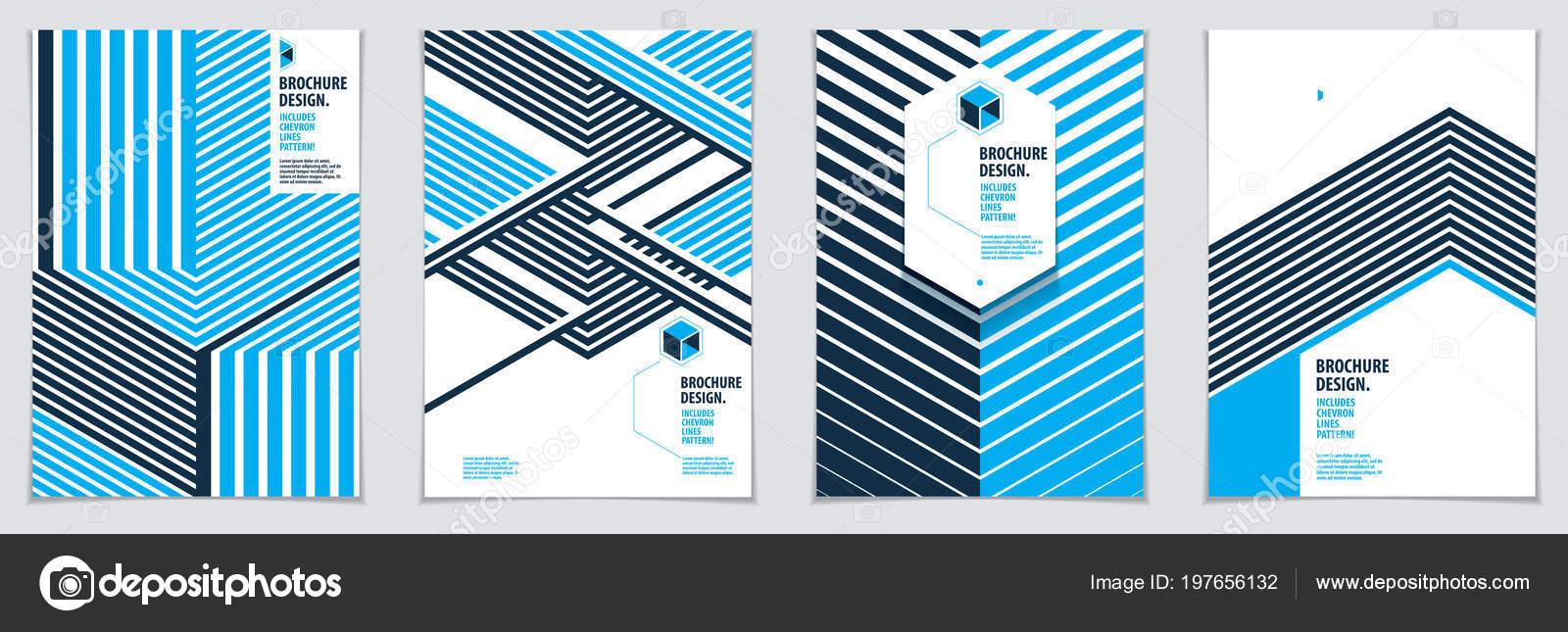 Plantillas Diseño Geométrico Futuro Resumen Rayas Con Textura Vector ...