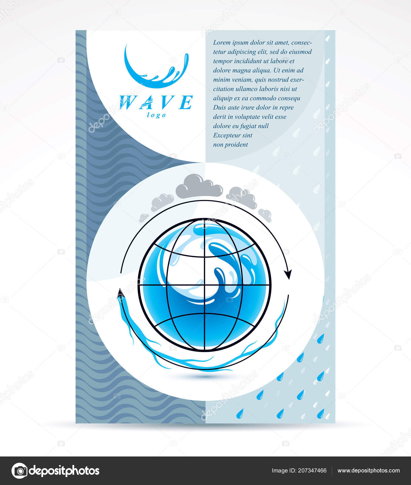 Water Treatment Company Advertising Flyer Global Water