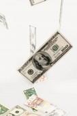 Közelkép a dollár számlát (részletek)