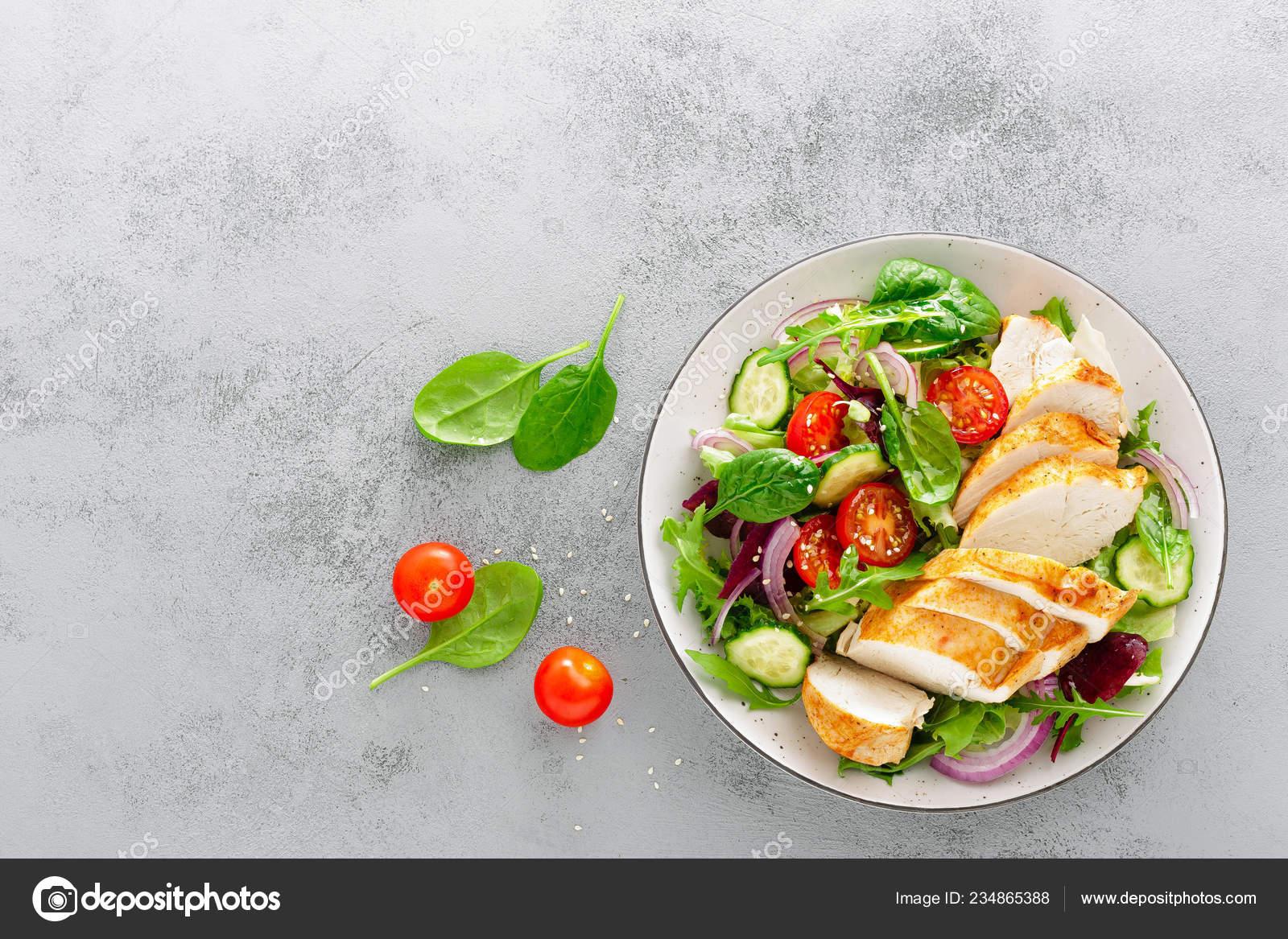 Dieta de pechuga y lechuga
