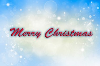 Merry Christmas abstract blurs background