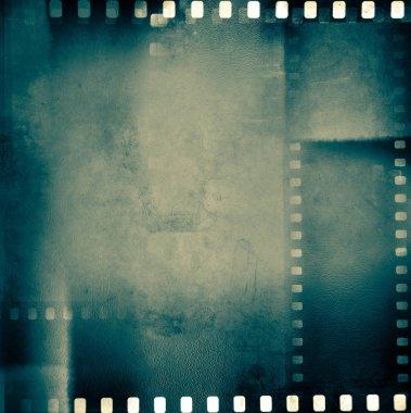 Film negative frames background stock vector