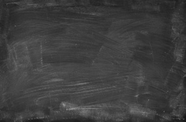 Chalk rubbed out on blackboard background stock vector