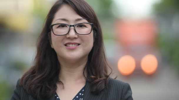 Asian mature video woman