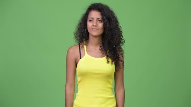 Fiatal gyönyörű spanyol nő, ami remek