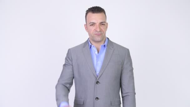 Podnikatel odmítáním a dává palec dolů