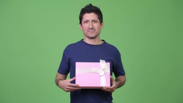 Boldog Spanyol férfi ajándék doboz