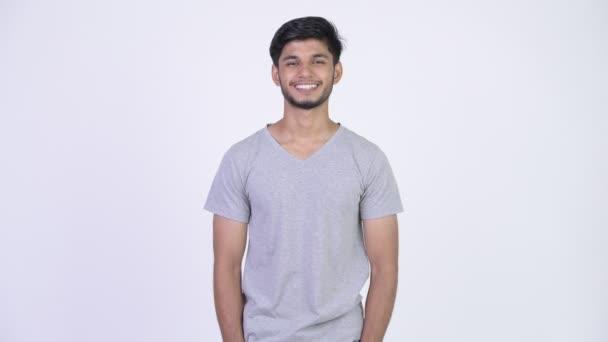 Mladí rádi vousatých kostým Indián
