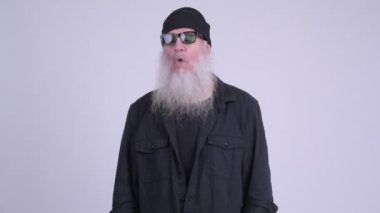 830135e79c Ώριμη γενειοφόρος hipster άνθρωπος ...