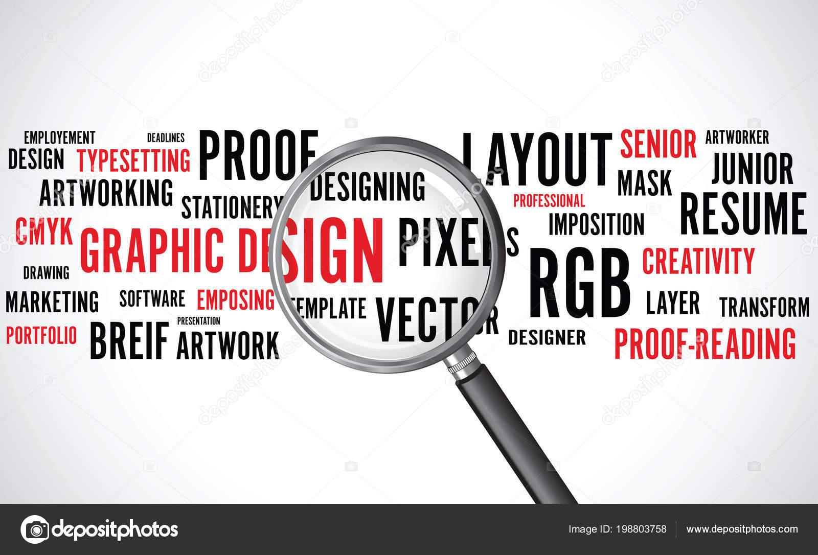 Hintergrund design word
