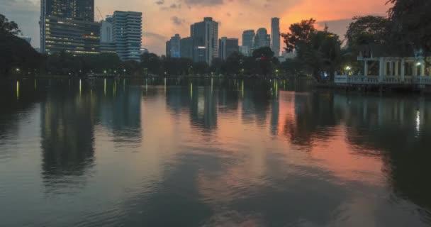 Lumpini Park, Bangkok, Thailand. DEC 2018