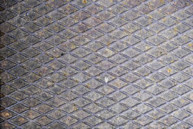 Old dirty metal sheet texture, close-up
