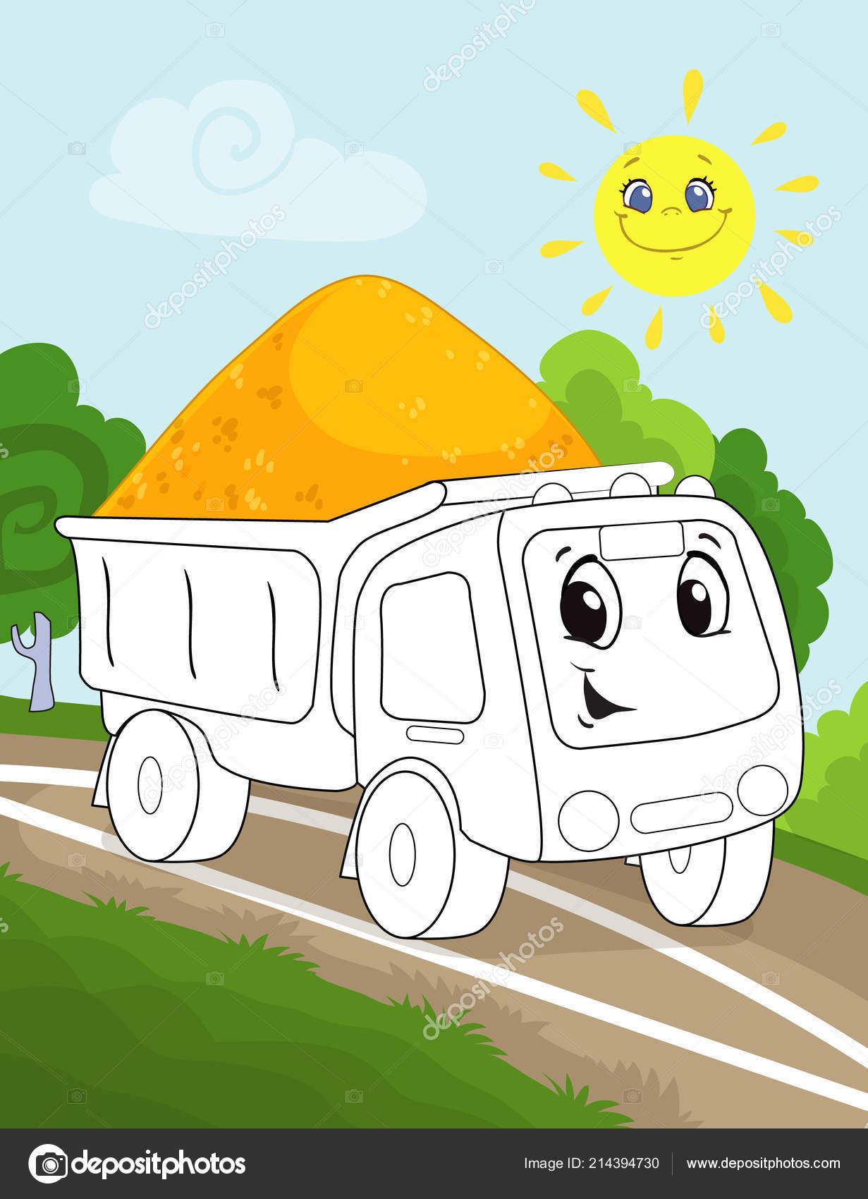 раскраски страницы книги для детей дошкольного возраста с