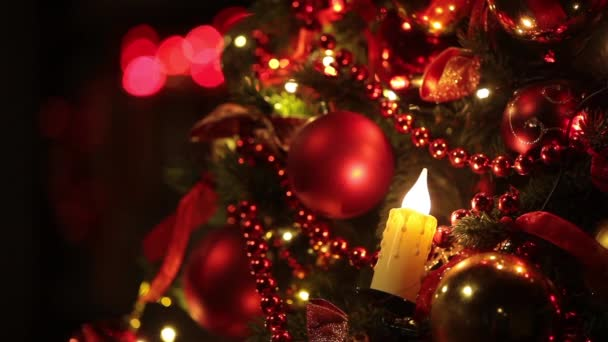 New year tree decoration