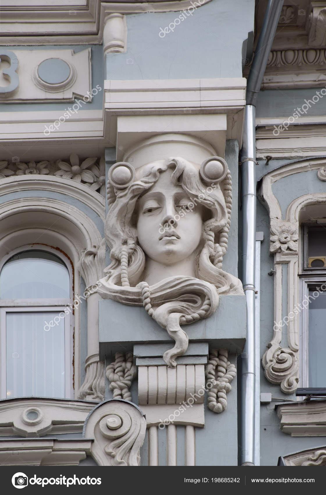 Élément Décoration Façade Maison Rentable Commerçant Mikhail Mishin ...