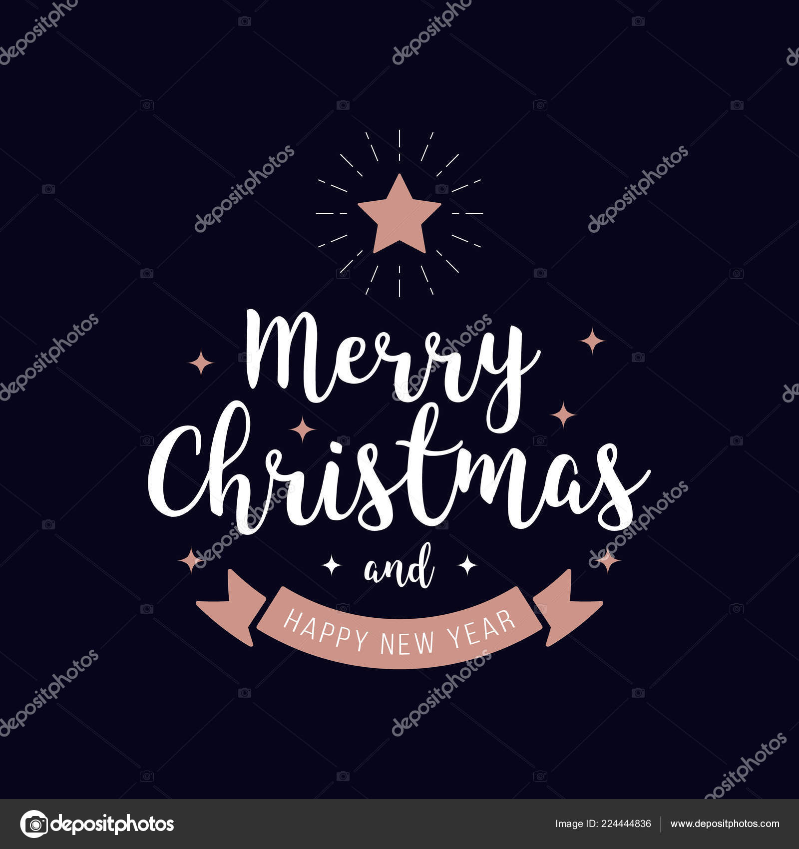 ᐈ Christmas Tree Wallpaper Iphone Stock Vectors Royalty Free Rose Gold Illustrations Illustrations Download On Depositphotos