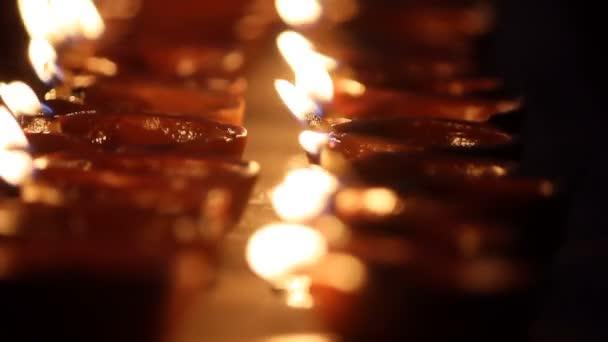 Fete Indienne Fete Avec Lampe Huile Joyeux Diwali Toute Autre