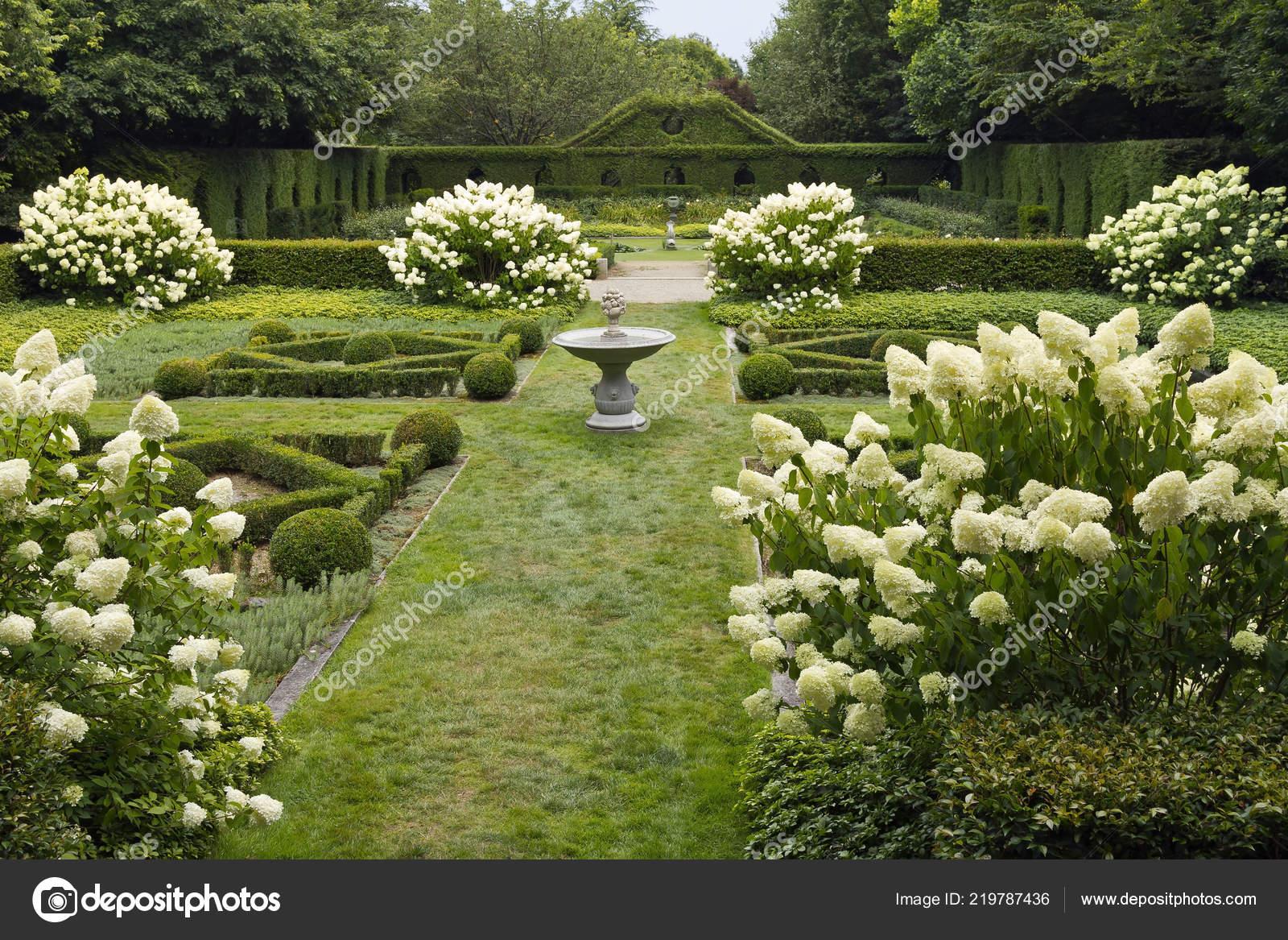 Geheimer Garten Der Botanische Park Der Hohen Bretagne Ist Von