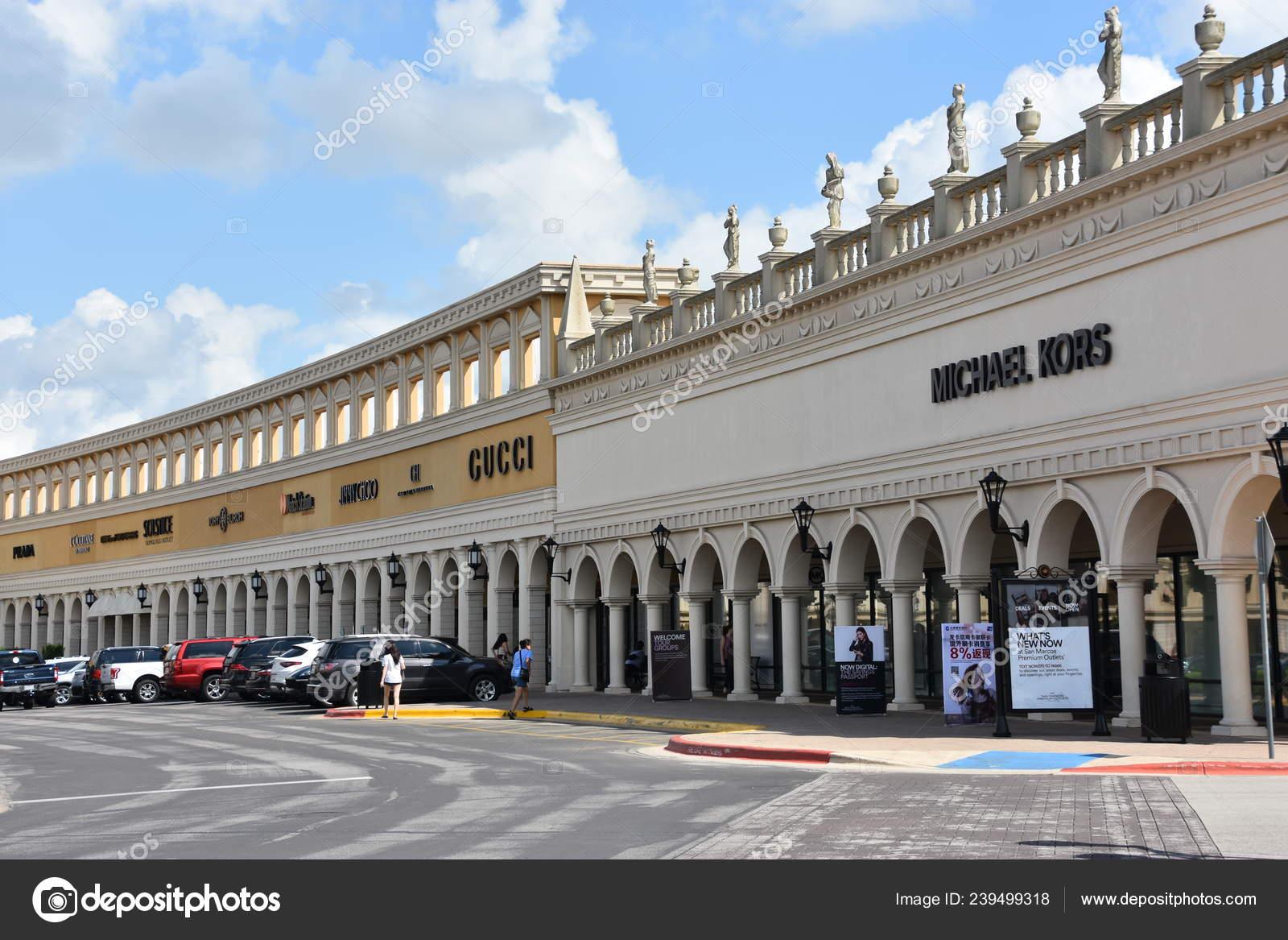 San Antonio Oct San Marcos Premium Outlets Texas Seen Oct ...