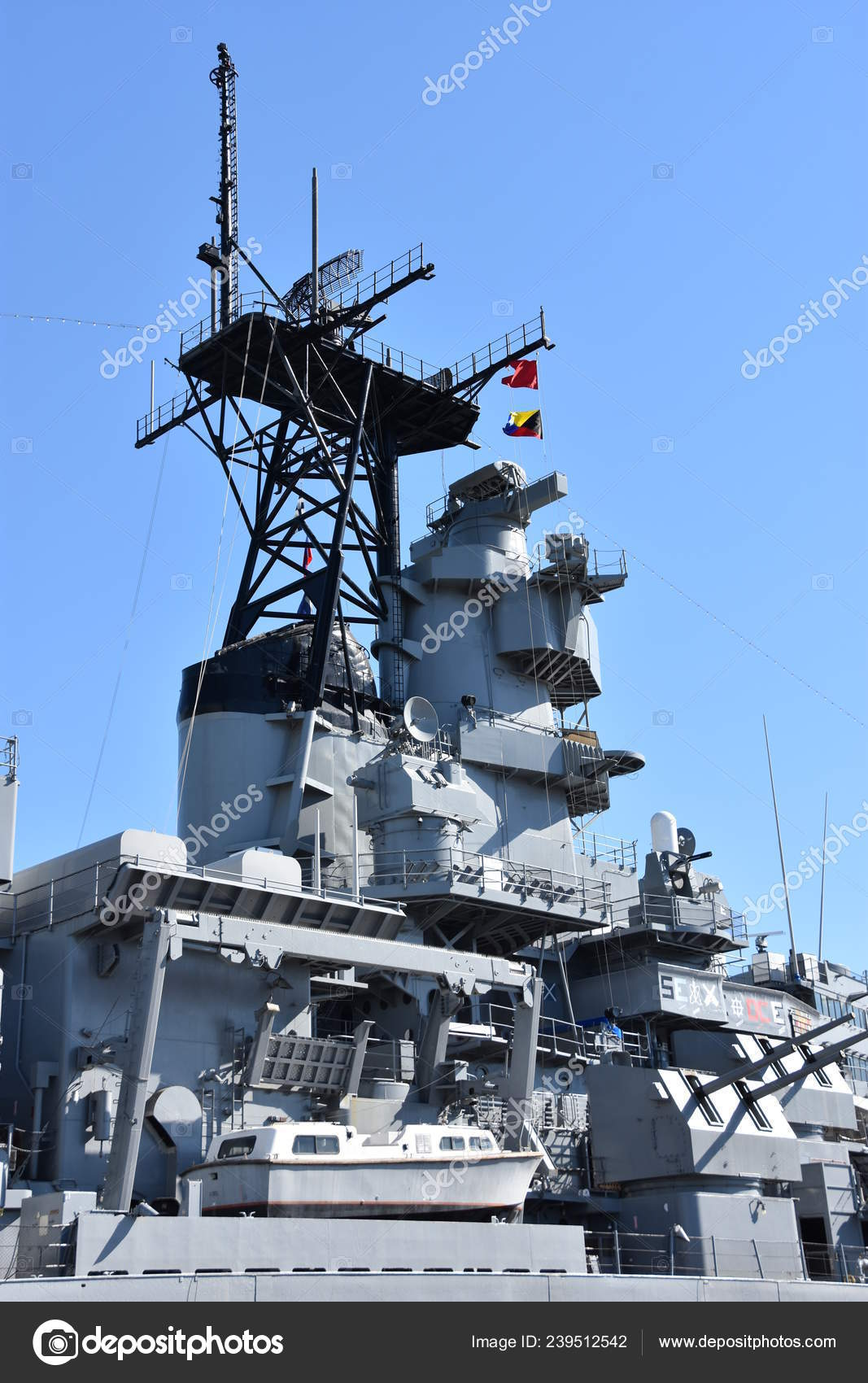 San Pedro Oct Uss Iowa San Pedro California Seen Oct – Stock