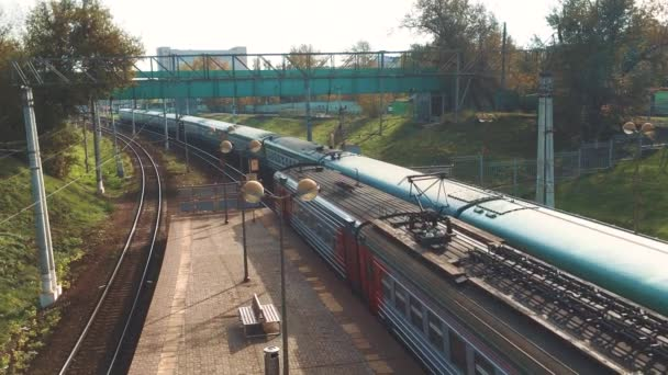Train passenger . passenger railroad industry. Railway wagons with subway train traffic outdoors. Railway wagons are station stop cars lifestyle