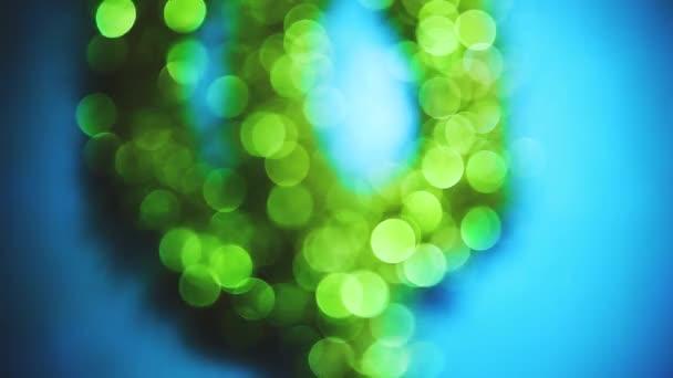 Életlen életmód zöld kék bokeh háttér napfény képernyővédő tapéta textúra tapéta. könnyű képernyővédő az Ön weboldalán