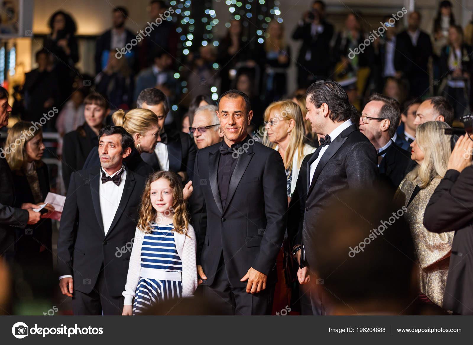 Weihnachtsfilm Oh Tannenbaum.Cannes France May 2018 Alida Baldari Calabria Marcello Fonte