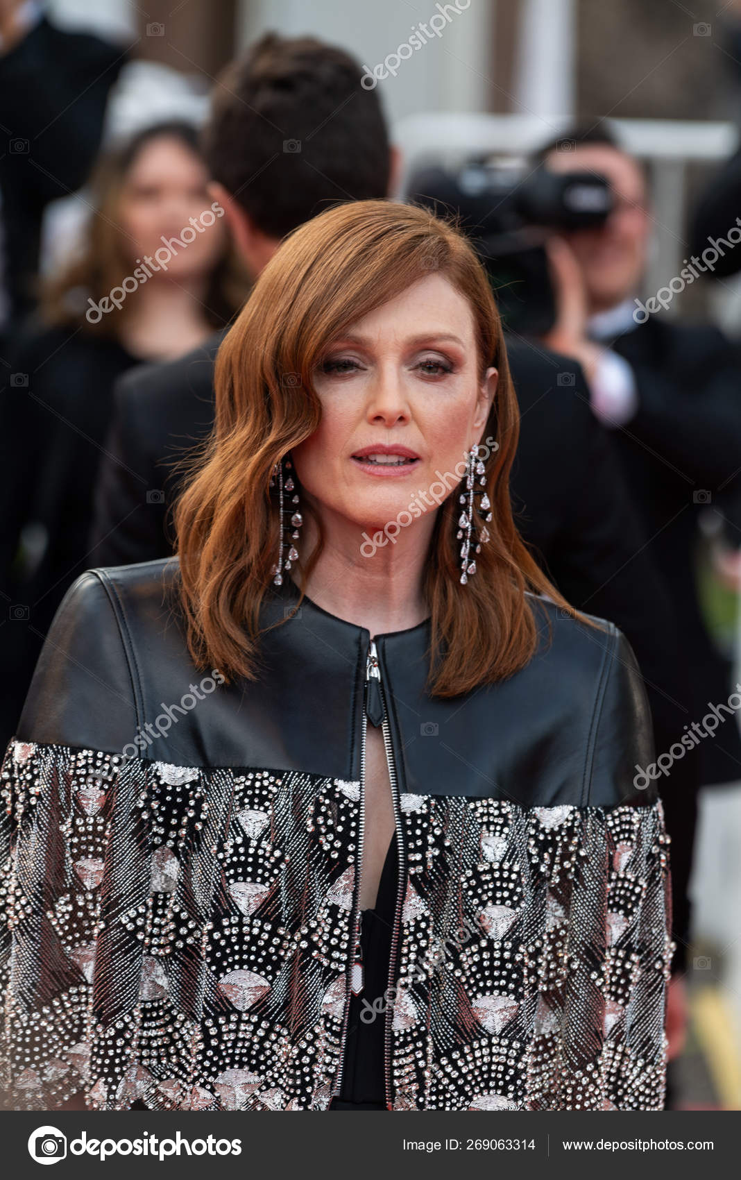 Cannes France May 2019 Julianne Moore Attends Screening Les