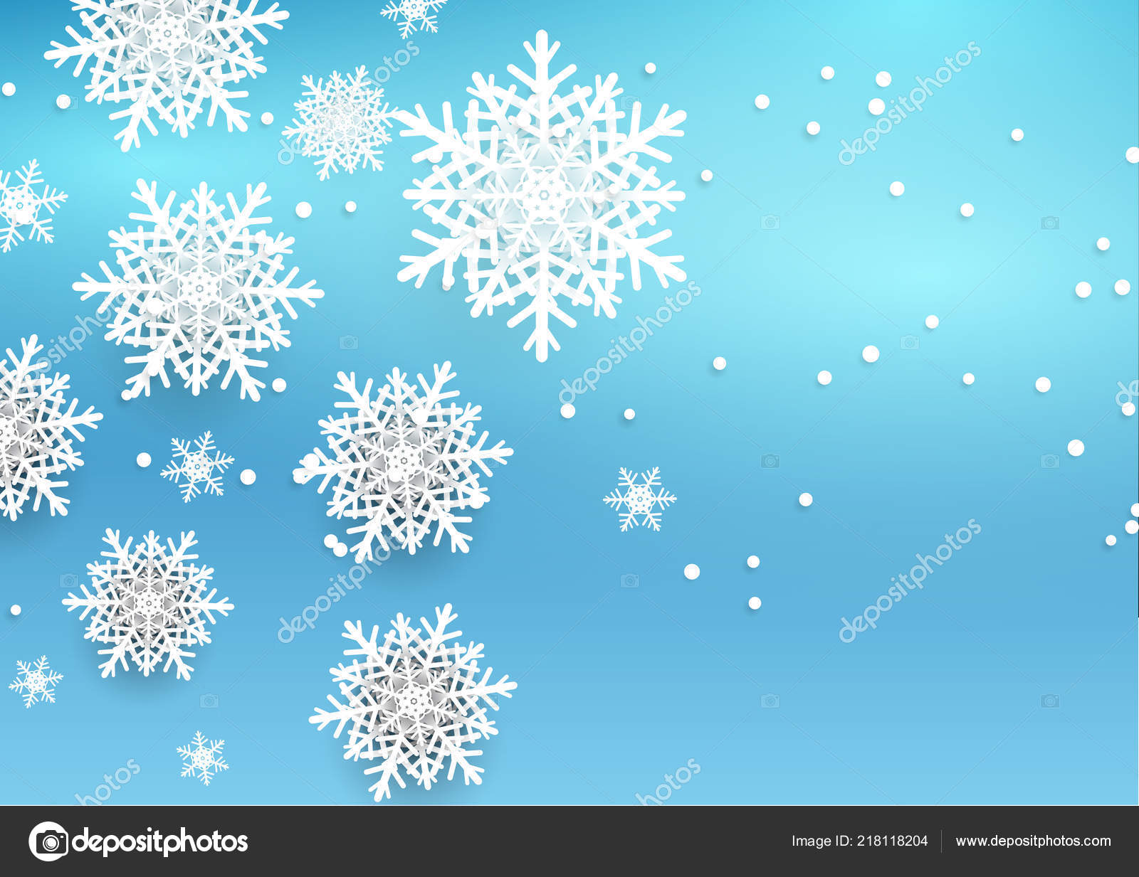 Christmas Background Design.Christmas Background Design Style Snowflakes Stock Vector