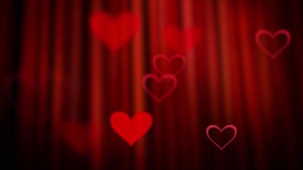 Srdce pozadí pro lásku projektu. Den svatého Valentýna