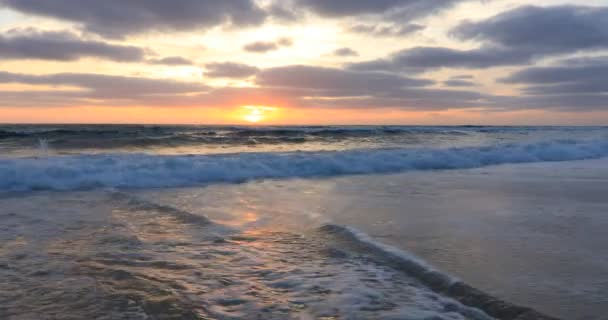 Sunset on the Atlantic coast,Bisacarosse, France