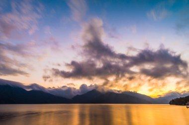 Lake Chuzenji in Nikko, Tochigi Prefecture, Japan.