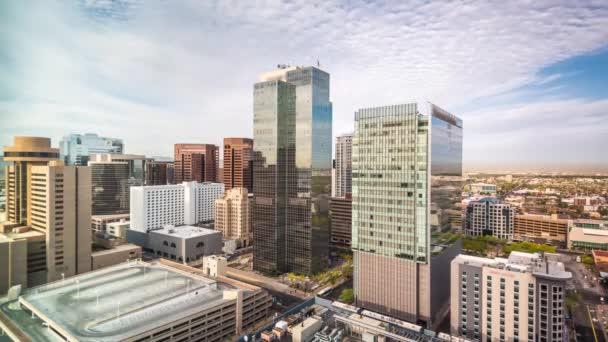 Phoenix, Arizona, Usa városkép a belvárosi idő telik el.