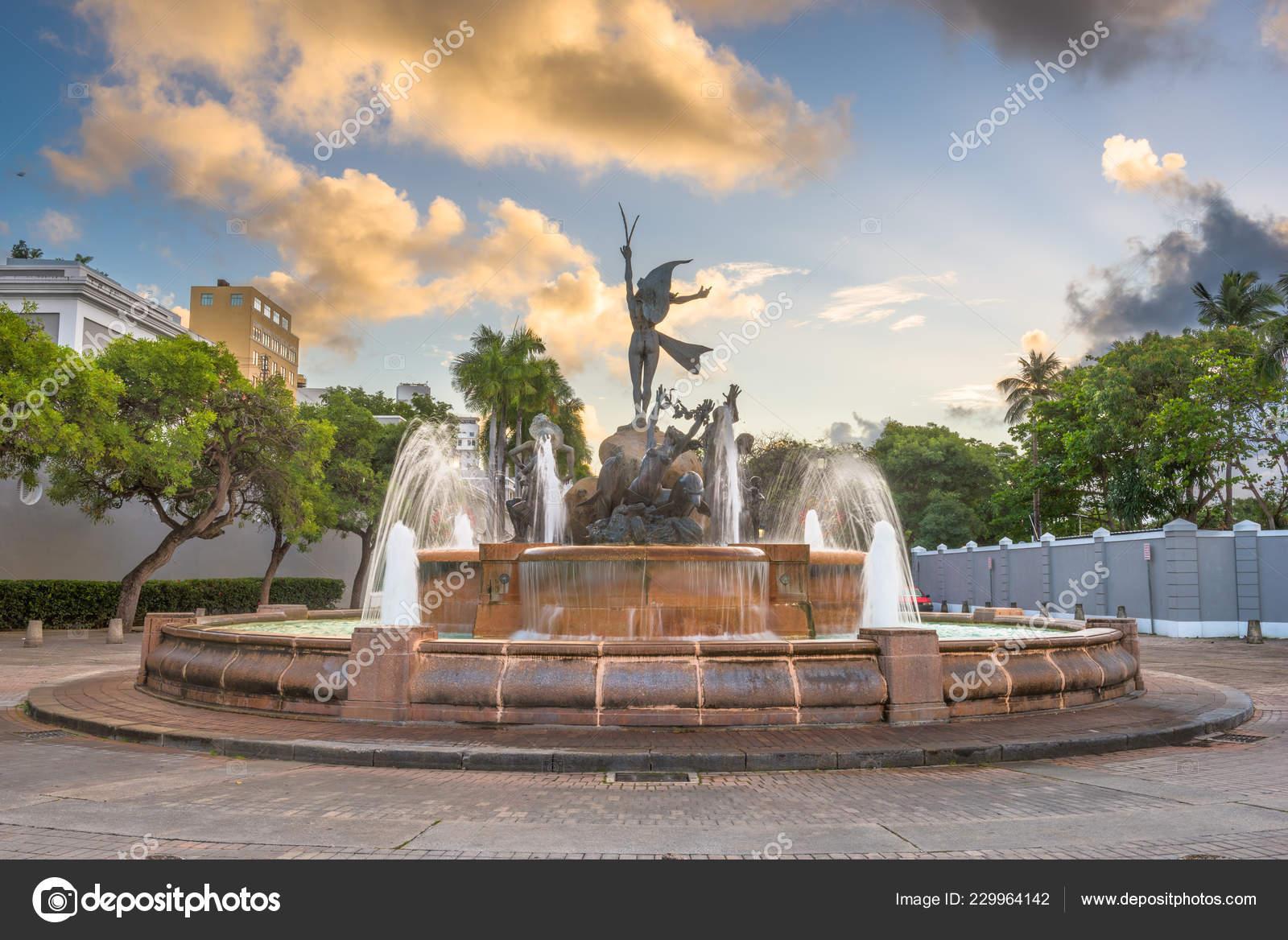 San Juan Puerto Rico Paseo Princesa Stock Editorial Photo C Sepavone 229964142