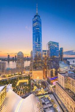New York, New York, USA financial district